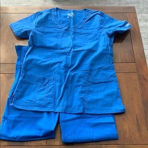 Women's Scrub Set - Pants Size S - Top Size M